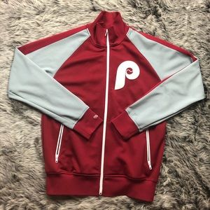 Mitchell&Ness Philadelphia Phillies zip up jacket